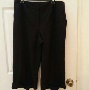 Talbots Petites black pants size 16